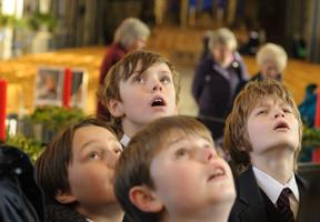 In praise of learning: Sarah Rickett talks about Salisbury Cathedral's work with schoolchildren